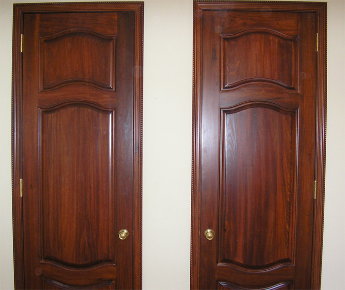 Decorative interior wooden doors for Custom interior wood doors